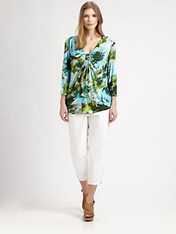 Lafayette 148 New York, Salon Z - Printed Top