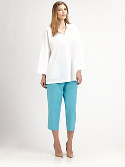 Lafayette 148 New York, Salon Z - Bracelet-Sleeve Blouse