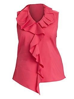 Lafayette 148 New York, Salon Z - Aliza Sleeveless Blouse