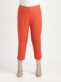 Lafayette 148 New York, Salon Z - Cropped Bleeker Pants