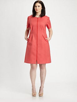 Lafayette 148 New York, Salon Z - Metro Stretch Sophia Dress