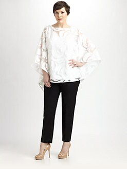 Lafayette 148 New York, Salon Z - Mirabella Cloth Top