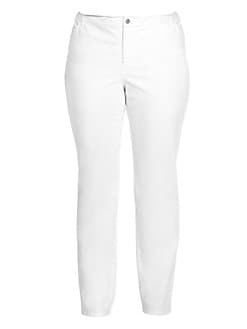 Lafayette 148 New York, Salon Z - Curvy Slim-Leg Jeans