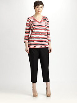 Lafayette 148 New York, Salon Z - Brushstroke-Print Top