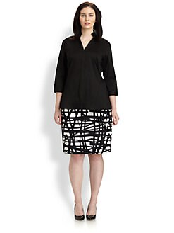 Lafayette 148 New York, Salon Z - Marti Blouse