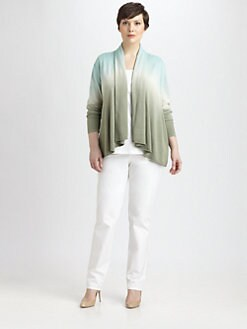 Lafayette 148 New York, Salon Z - Dip-Dyed Shawl Cardigan