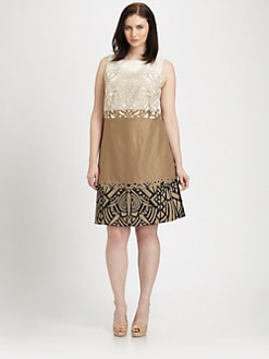 Lafayette 148 New York, Salon Z - Embellished Hepburn Dress