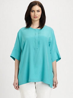 Lafayette 148 New York, Salon Z - Silk Selene Top