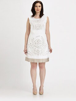Lafayette 148 New York, Salon Z - Embellished Elle Dress