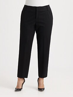 Lafayette 148 New York, Salon Z - Straight-Leg Trousers
