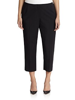 Lafayette 148 New York, Salon Z - Cropped Bi-Stretch Pants