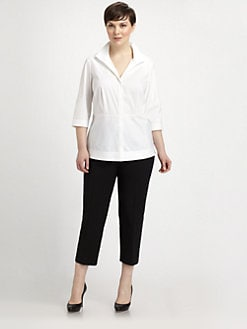 Lafayette 148 New York, Salon Z - Ellis Blouse