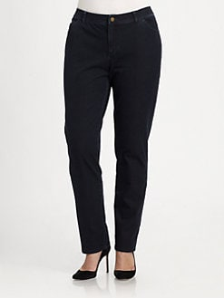 Lafayette 148 New York, Salon Z - Bi-Stretch Curvy  Jeans