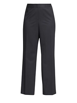 Lafayette 148 New York, Salon Z - Menswear Stretch-Wool Pants
