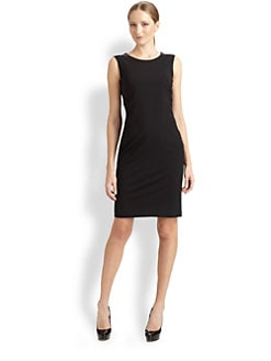 BOSS Black - Tropical Stretch Wool Dress