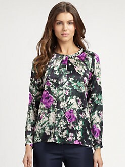 BOSS Black - Isolia Floral Blouse