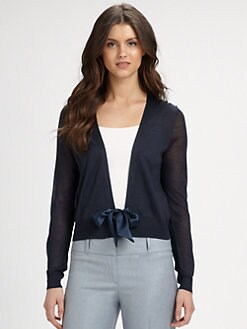 BOSS Black - Belted Cashmere Cardigan