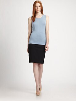 BOSS Black - Silk/Cashmere Sleeveless Top