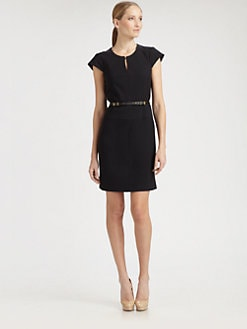 BOSS Black - Wool Suiting Dress