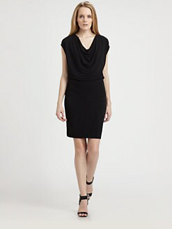 BOSS Black - Draped Jersey Dress