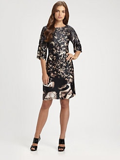 BOSS Black - Diemal Silk Dress