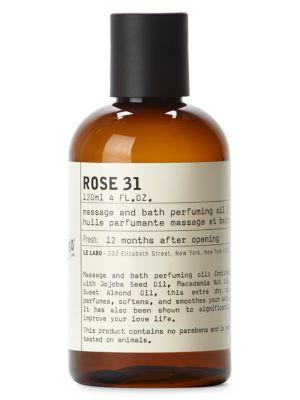 Rose 31 Body Oil/4 oz.