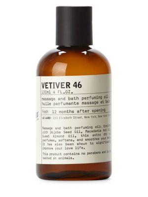 Vetiver 46 Body Oil