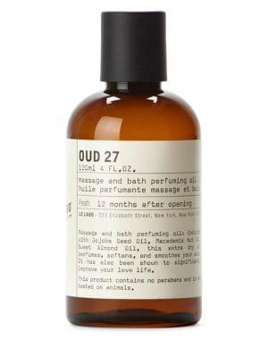 Oud 27 Body Oil/ 4 oz.