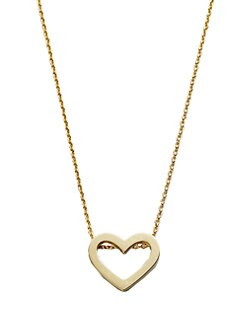 Roberto Coin - 18K Yellow Gold Heart Necklace