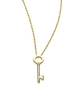 Roberto Coin - 18K Yellow Gold Key Necklace