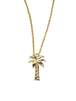 Roberto Coin - 18K Yellow Gold Palm Tree Necklace