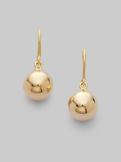 Roberto Coin - 18K Yellow Gold Bead Earrings