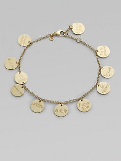 Roberto Coin - 18K Yellow Gold Love Bracelet
