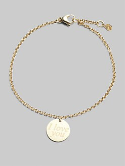 Roberto Coin - 18K Yellow Gold Love Plus Bracelet