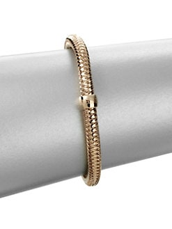 Roberto Coin - 18K Rose Gold Bangle Bracelet
