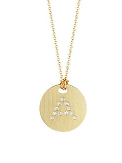 Roberto Coin - Diamond and 18K Yellow Gold