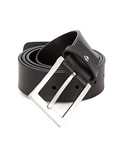 Montblanc - Classic Leather Belt