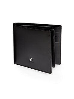 Montblanc - Leather Bifold Wallet
