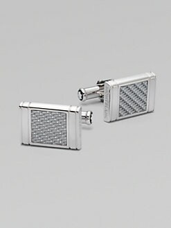 Montblanc - Silver Square Cuff Links