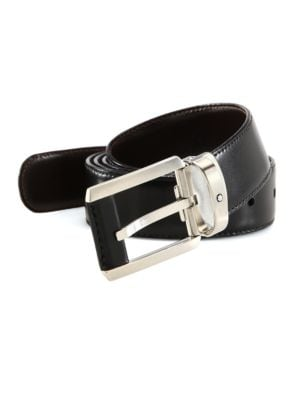 MONTBLANC Classic Leather Belt