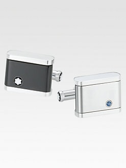 Montblanc - Stainless Steel Cuff Links
