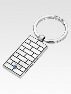 Montblanc - Stainless Steel Key Ring