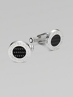 Montblanc - Polished Round Cuff Links