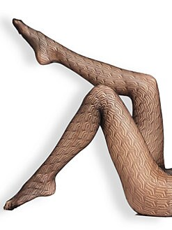 Fogal - Caren Geometric Patterned Tights