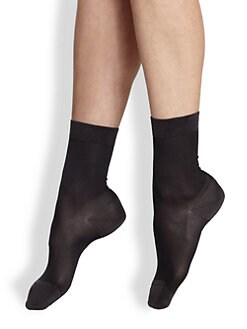 Maria La Rosa - Semi-Sheer Ankle Socks