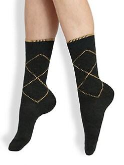 Maria La Rosa - Rhombus Mid-Calf Socks