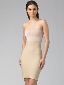 Spanx - Hide and Sleek Strapless Slip