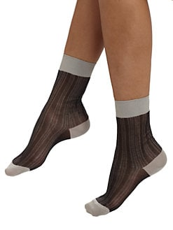 Maria La Rosa - Short Silk Socks