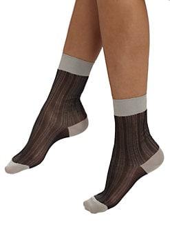Maria La Rosa - Short Silk Socks