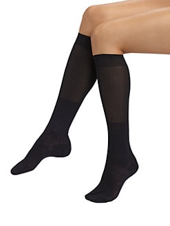 Maria La Rosa - Ribbed Knee Socks